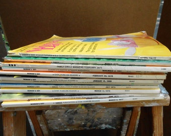 Collection of 5 - vintage magazines