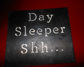 Day Sleeper  Shh