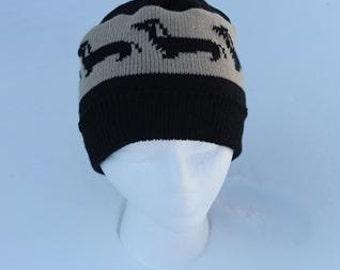 Dachshund Beanie Hat, Wiener Dog Beanie Hat
