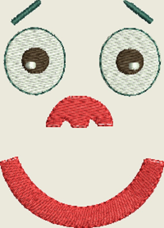 Doll Face Machine Embroidery Designs