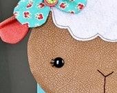 Little Lamb Zippy Critter PDF Pattern