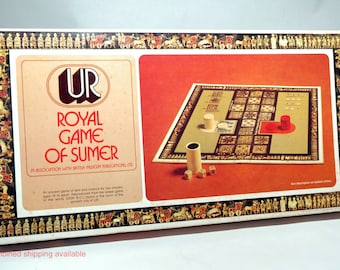 UR Royal Game of Sumer from Selchow & Righter 1977 COMPLETE (read description)