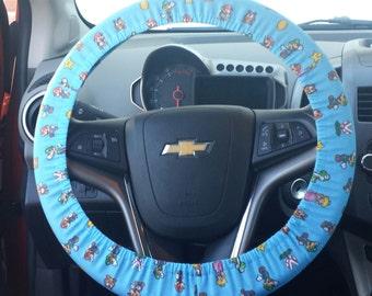 Mario Steering Wheel Cover