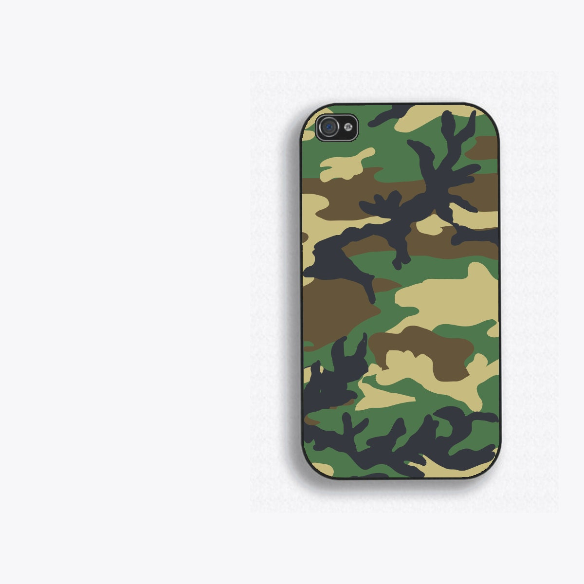 camo iphone 5 case woodland camo phone for iphone 5 iphone 4 by humeruswares 6460