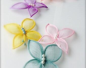 Hair butterflies,butterfly hair clip,wedding butterfly,bridal hair piece,colorful butterfly
