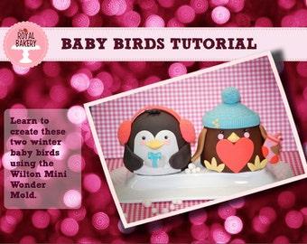 Baby Birds Tutorial by: Royal Bakery