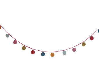 Knitted Dot Garland