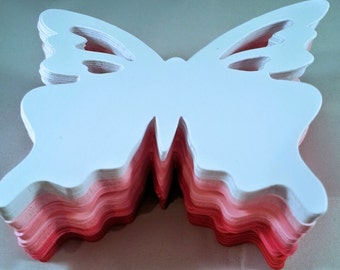 50 butterflies die cuts - choose the color you like