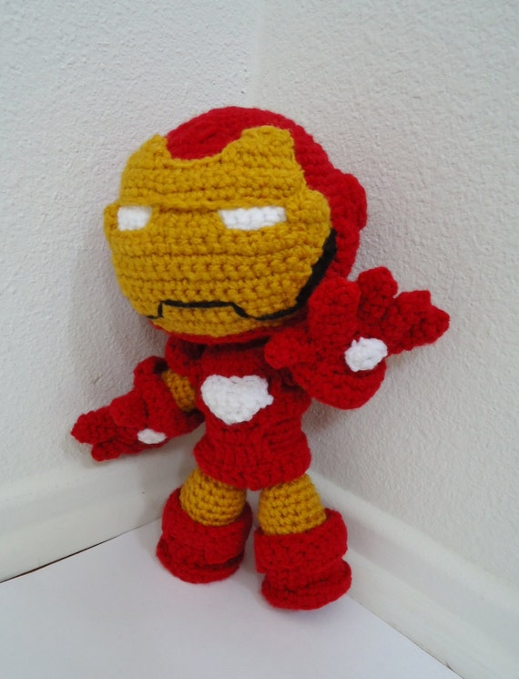 Iron Man Knitting Pattern : Unavailable Listing on Etsy