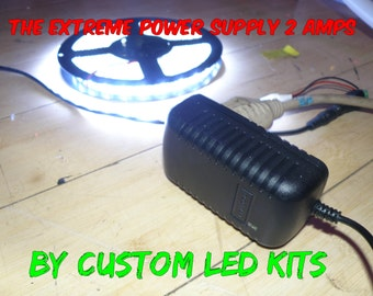 The Extreme Power Supply for LED Strip Light Projects - By custom led kits