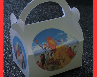 Lion King Favor Boxes, Lion King Birthday Party Supplies, Lion King party favors