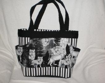 wolf purse