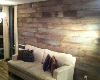 Barn-Wood Wall Paneling
