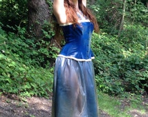 popular items for rubber corset on etsy