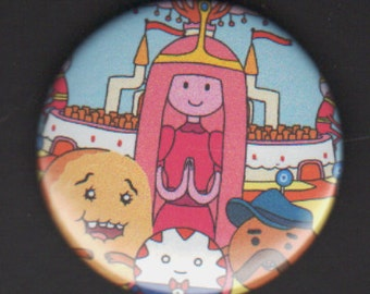 Adventure Time 1.75 inch Button - The Candy Kingdom