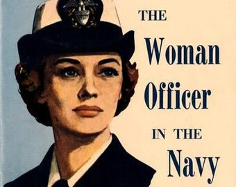 Art Print US Navy Recruiting Women Officers - Print 8 x 10