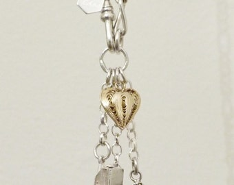 The 'Caravan of Love' Silver Vintage Charm Necklace