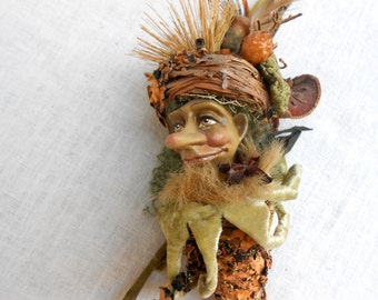 Fall Woodsman in all his Gorgeous Colors Decoration