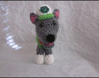 CROCHET PATTERN - Paw Puppy Rocky
