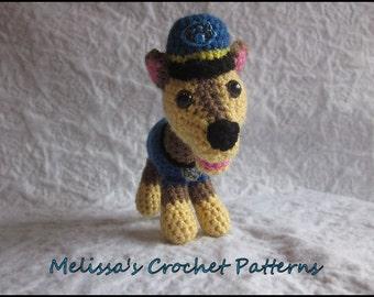 CROCHET PATTERN - Paw Puppy Chase