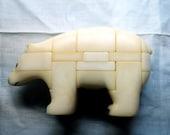 Puzzle ours 3D vintage des années 80