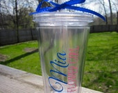 Personalized Tumbler for Flower Girls- Perfect for the Flower Girls in your Wedding
