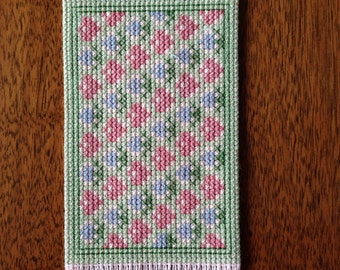 Handmade Dollhouse Miniature Cross Stitch Rug