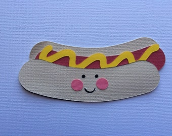 Hot Dog Paper Piecing