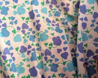 60s vintage mod retro fabric. Scandinavian design. Made in Sweden.