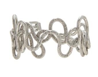MENS silver cuff bracelet