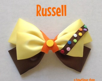 russell hair bow