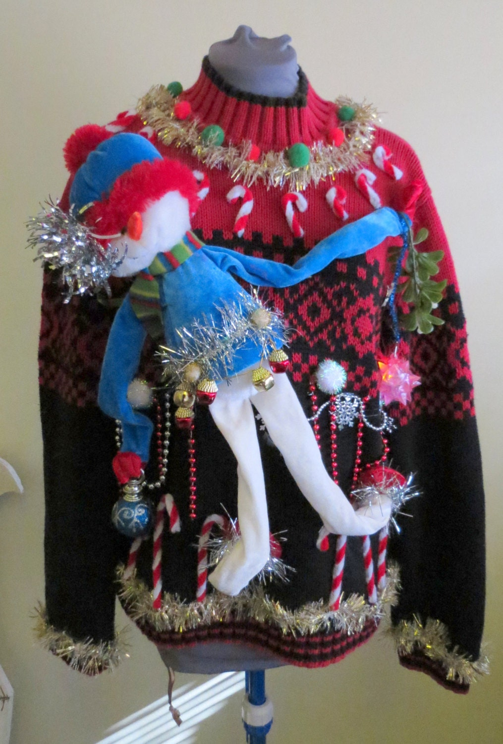 Hilarious Tacky Ugly Christmas Sweater With