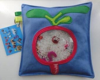 zoekzak/I spy bag 'gezond' speelgoed