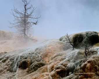 Fine Art Photography Home Decor Yellowstone Hot Springs