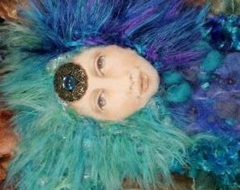 Spirit Doll - Dream Spirit - OOAK - hand-painted face