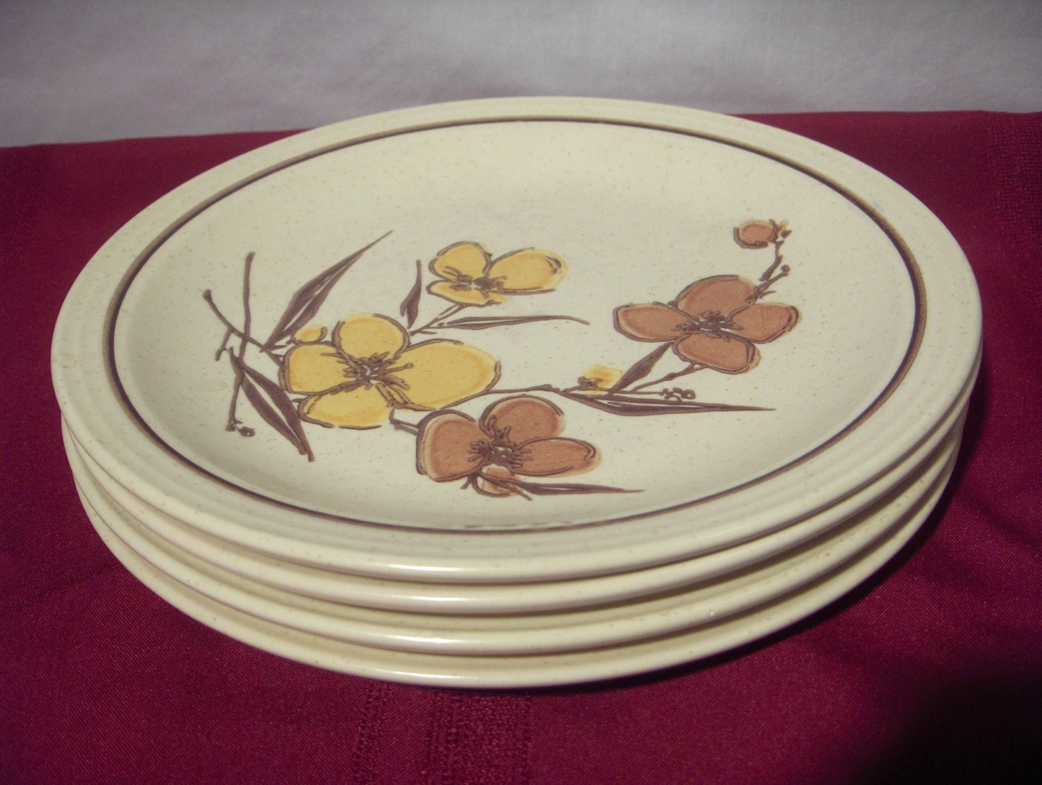Homer Laughlin Stoneware Dinner Plates