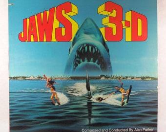 Jaws 3D Soundtrack, 1983 Vinyl