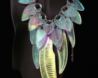 Modern Tribal Light-Up Necklace