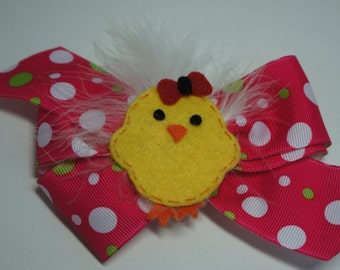 Chick Hair Bow