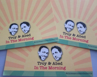 Community - Troy & Abed Writing Sheets