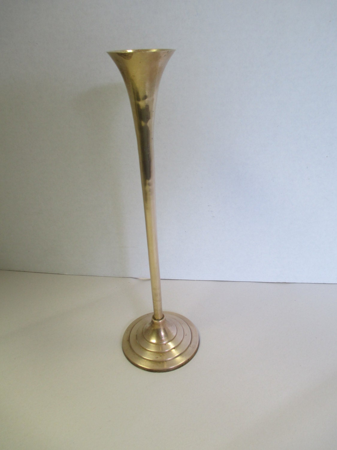 Vintage brass candle holder used for Used candle holders