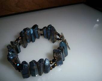 Cobalt Blue Crystal Bracelet