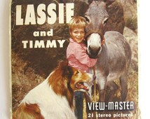 View Master Lassie and Timmy Reels