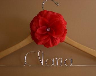 HUGE SALE/Personalized Hangers/ Mother of the Bride/Personalized Wedding Hanger/Personalized Custom Bridal Hangers/Weddings/Bride/Bridesmaid