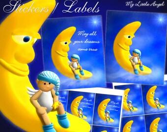 """My Little Angel """"Dreams"""" Stickers - Digital Download"""