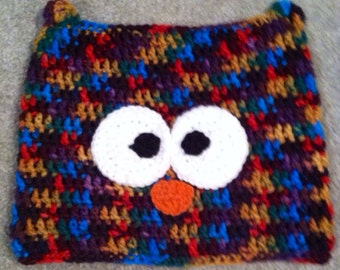 Made to order. Hootie-Hoo owl hat