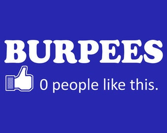 BURPEES ZERO 0 PEOPLE Like this tanktop or sleeveless t-shirt
