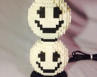 LEGO® Lamp - Smiley Face Lamp (Glow in the Dark)