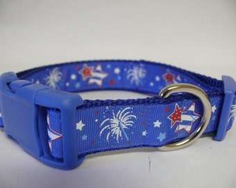 July 4th / Memorial Day Dog Collar