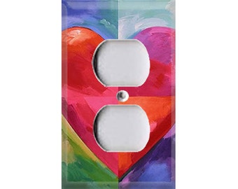 Big Heart Outlet Cover